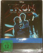 TRON Das Original Steelbook   Blu Ray NEU OVP