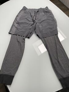 lululemon mens tights/shorts Sz L