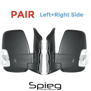 Side Mirror for Ford Transit 150 Cargo 15-19 Power Heated Signal PAIR Left+Right