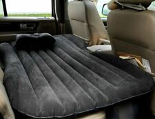 Car Air Bed Inflatable Mattress Back Cushion Two Pillows for Travel Camping