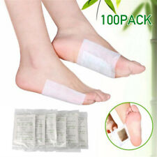 100 Detox Fusspflaster Entgiftung Bambus Foot Pads Vitalpflaster Entschlackung
