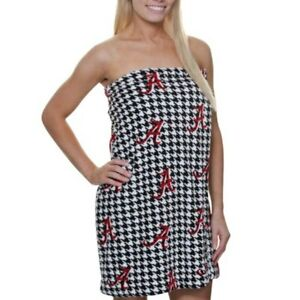 Alabama Crimson Tide Spa Wrap Polyester Size XL Houndstooth  NEW #8264
