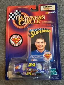 1999 Winner's Circle NASCAR Jeff Gordon 1:64 Diecast Lifetime Series Superman