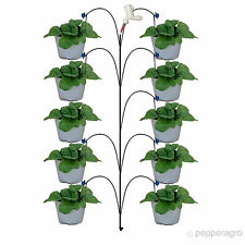 GARDENING KIT FOR TERRACE OR BALCONY SEEDS SOIL DRIP IRRIGATION KIT 10 PLANTS