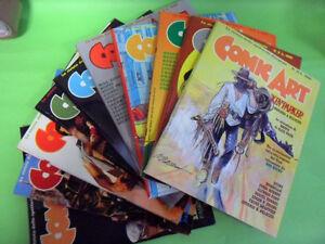 COMIC ART DAL N°1 AL N°10.1984-1986