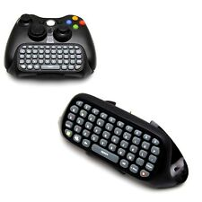 Text Messenger Keyboard Chatpad Keypad for Xbox 360 Wireless Controller Black