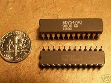 Analog Devices #AD7547AQ, Dual 12 bit DACs, 24 DIP