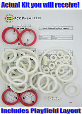 1984 Zaccaria Devil Riders Pinball Machine Rubber Ring Kit