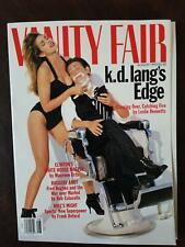 Vanity Fair magazine August 1993 K.D. Lang & Cindy Crawford FINE