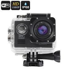 VIDEO FOTOCAMERA 14 MP SONY FULL HD WIFI SPORT CAM 60fps SUBACQUEA 50 MT HDMI SD