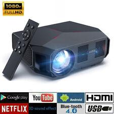 Beamer Mini Video Projektor 5500 Lumen 1080P FHD Unterstützt Heimkino Projektor
