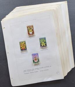 EDW1949SELL : WW TOPICAL Flowers All sets & S/S mostly NH from Br. Commonwealth