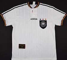 1996-1998 GERMANY ADIDAS HOME FOOTBALL SHIRT (SIZE M)