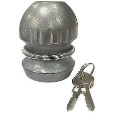Hidden Tow Ball Insertable Hitch Coupling Lock Security Caravan Trailer 50mm