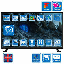 eStar 32 Inch Smart LED Digital HDR TV DVB-T2/C/S2 Freeview Freesat 2xUSB 3xHDMI