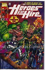 Marvel 1997 HEROES FOR HIRE #1 NM Luke Cage Hulk Iron Fist Comics Black Knight