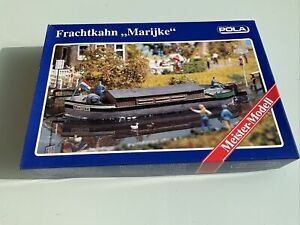 "POLA 470 : Frachtkahn ""Marijke"" Schiff Boot OVP 1:87 H0 Selten!"