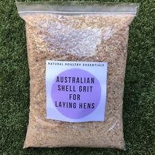 SHELL GRIT FOR CHICKENS, 2kg. Free Postage! 100% AUSTRALIAN, PURE & NATURAL