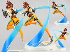 OW Overwatch Slipstream Heroes Tracer Blink Recall Lena Oxton Figure Figurine