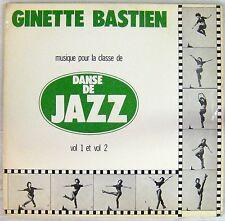 Musique pour la classe de danse de Jazz 33 tours Ginette Bastien
