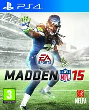 MADDEN NFL 15 SONY PS4 UK PAL GAME *COMPLETE - GOOD CONDITION*