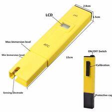 Digital ATC PH Meter Water Hydroponics Pen Aquarium Pool Tester UK Stock
