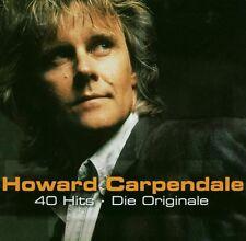 "HOWARD CARPENDALE ""40 HITS-DIE ORGINALE"" 2 CD NEUWARE"