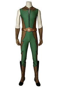 The Boys Season 1 THE DEEP Uniform Outfits Halloween Cosplay Costume + Shoes