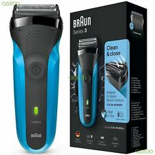 Braun Series 3 310s Mens Rechargeable Electric Face Stubble Shaver Razor Wet&Dry