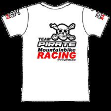 Pirate t-shirt Team mountainbike, pirata, Skull, Gothic, Calavera