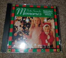 'Tis The Season For Memories - Nashville's Children's Chorus (CD) New and Sealed