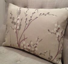 "12x20""cushion cover in Laura Ashley Pussy Willow Natural/Austen Natural"