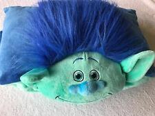 """Pillow Pets Trolls Dreamworks 2016 Movie Branch Pillow 17""""x11"""" Plush"""