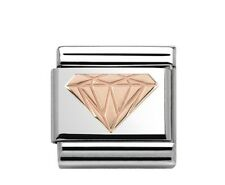 Nomination Charm Rose Gold Brilliant Diamond