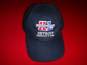 Year 2006 NFL SUPERBOWL XL In Detroit February 5, 2006 Ball Hat - By REEBOK