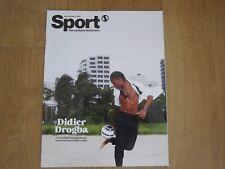 Shortlist Sport Magazine Didier Drogba New.