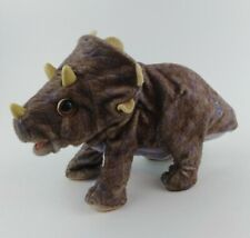 HASBRO KP Electronic Interactive Triceratops Dinosaur Plush Toy 2008