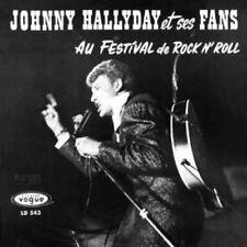 CD de musique pop rock pour Pop Johnny Hallyday