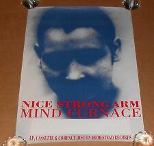 Nice Strong Arm Mind Furnace Poster Tour Original Promo 24x17