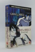 coffret 3 dvd Ghost in the shell 1 et 2 ( innocence ) zone 2 Anglais / Japonais