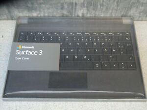 Microsoft Type Cover für Surface 3 - deutsche Tastatur - QWERTZ - schwarz