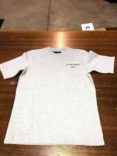 ABECROMBIE & FITCH - BRAND NEW GRAY SHORT-SLEEVE T-SHIRT- SIZE TEEN MEDIUM