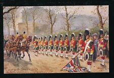 Artist HARRY PAYNE Military in London Dipping Colours Tuck Oilette #3546F PPC