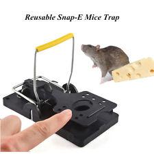 2 pcs Reusable Snap-E Mouse Trap Control Rat Trap