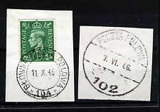 WWII Great Britain George VI Stamps