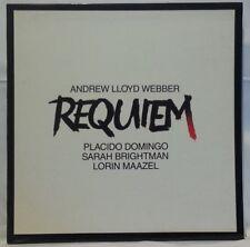 REQUIEM - vintage vinyl LP - Webber, Domingo, Brightman, Maazel - gatefold