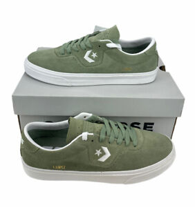 NEW Converse Louie Lopez Pro Ox CONS Mens Skate Shoes Sneakers Green Suede NIB