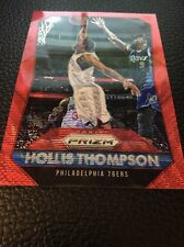 Hollis Thompson  76ers 2015-2016 Panini Prizm Ruby Wave #177  16/350