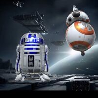 "BB8 ""STAR WARS"" R2 D2 SuperShape 22 in x 26 in Foil Party Balloon - 2 Pack!!"