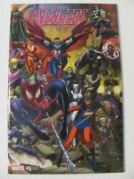 Avengers #0 Marvel 2015 One Shot Arthur Adams 1:25 Warparound Variant 9.6 NM+